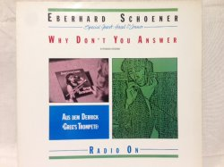 画像1: Eberhard Schoener ‎– Why Don't You Answer  1985 version featuring Hazel O'Connor.