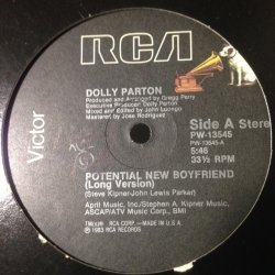 画像1: Dolly Parton ‎– Potential New Boyfriend 12