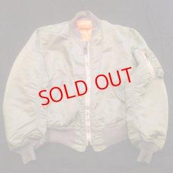 画像2: Printed VITAGE MA1 Jacket  M size 2